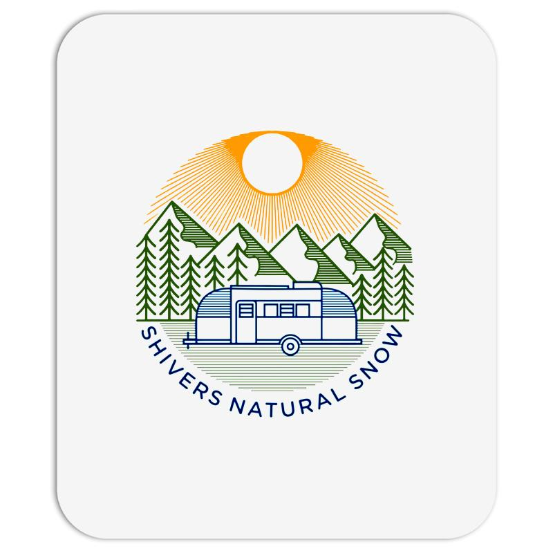 Natural Snow Mousepad | Artistshot