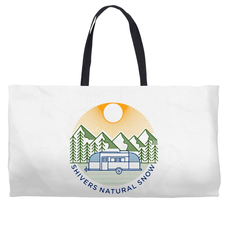 Natural Snow Weekender Totes | Artistshot