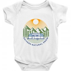 natural snow Baby Bodysuit | Artistshot