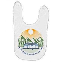 natural snow Baby Bibs | Artistshot