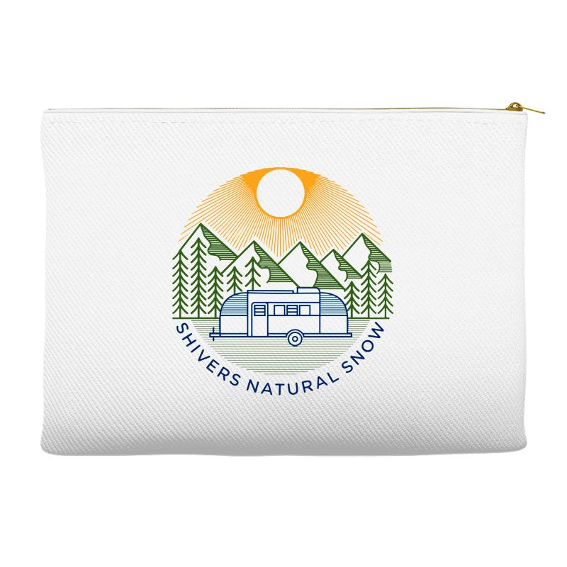 Natural Snow Accessory Pouches | Artistshot