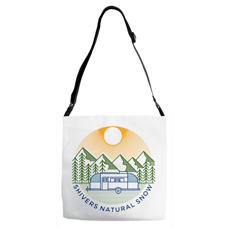 Natural Snow Adjustable Strap Totes | Artistshot