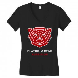 platinum nutrition Women's V-Neck T-Shirt | Artistshot