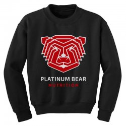 platinum nutrition Youth Sweatshirt | Artistshot