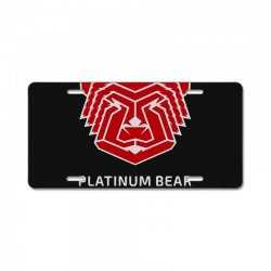 platinum nutrition License Plate | Artistshot