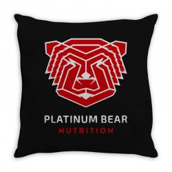 platinum nutrition Throw Pillow | Artistshot