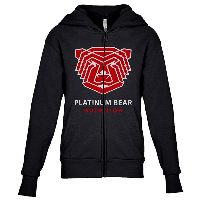 Platinum Nutrition Youth Zipper Hoodie | Artistshot