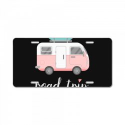 road trip License Plate | Artistshot