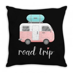 road trip Throw Pillow | Artistshot