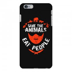 save animals eat people iPhone 6 Plus/6s Plus Case | Artistshot