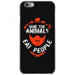 save animals eat people iPhone 6/6s Case | Artistshot