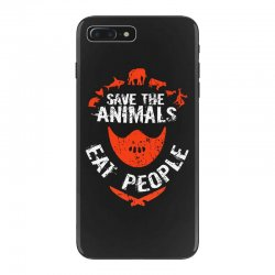 save animals eat people iPhone 7 Plus Case | Artistshot