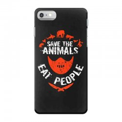 save animals eat people iPhone 7 Case | Artistshot
