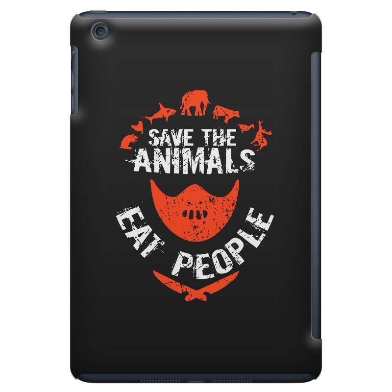 Save Animals Eat People Ipad Mini Case | Artistshot