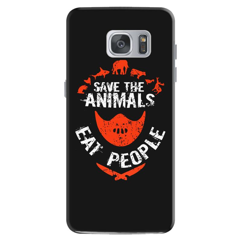 Save Animals Eat People Samsung Galaxy S7 Case | Artistshot