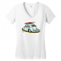 go surfing Women's V-Neck T-Shirt | Artistshot