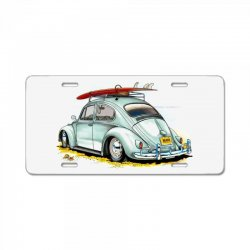 go surfing License Plate | Artistshot