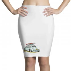 go surfing Pencil Skirts | Artistshot