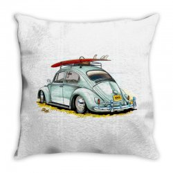 go surfing Throw Pillow | Artistshot