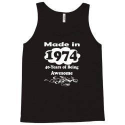 awesome 1974 limited edition Tank Top | Artistshot