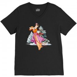 snow princess V-Neck Tee | Artistshot