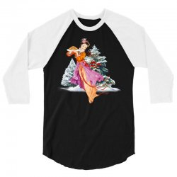 snow princess 3/4 Sleeve Shirt | Artistshot