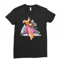 snow princess Ladies Fitted T-Shirt | Artistshot