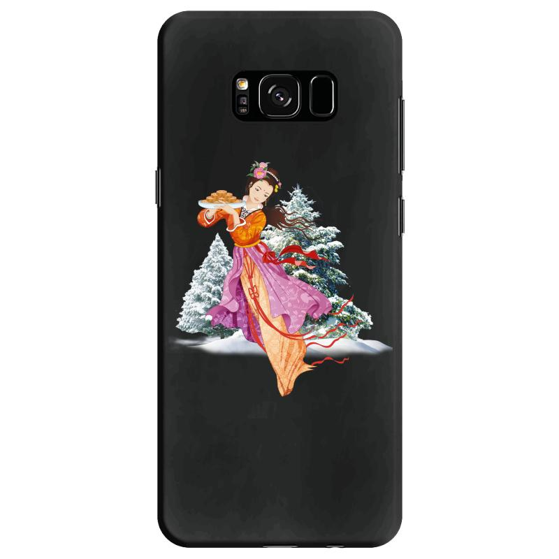Snow Princess Samsung Galaxy S8 Case | Artistshot