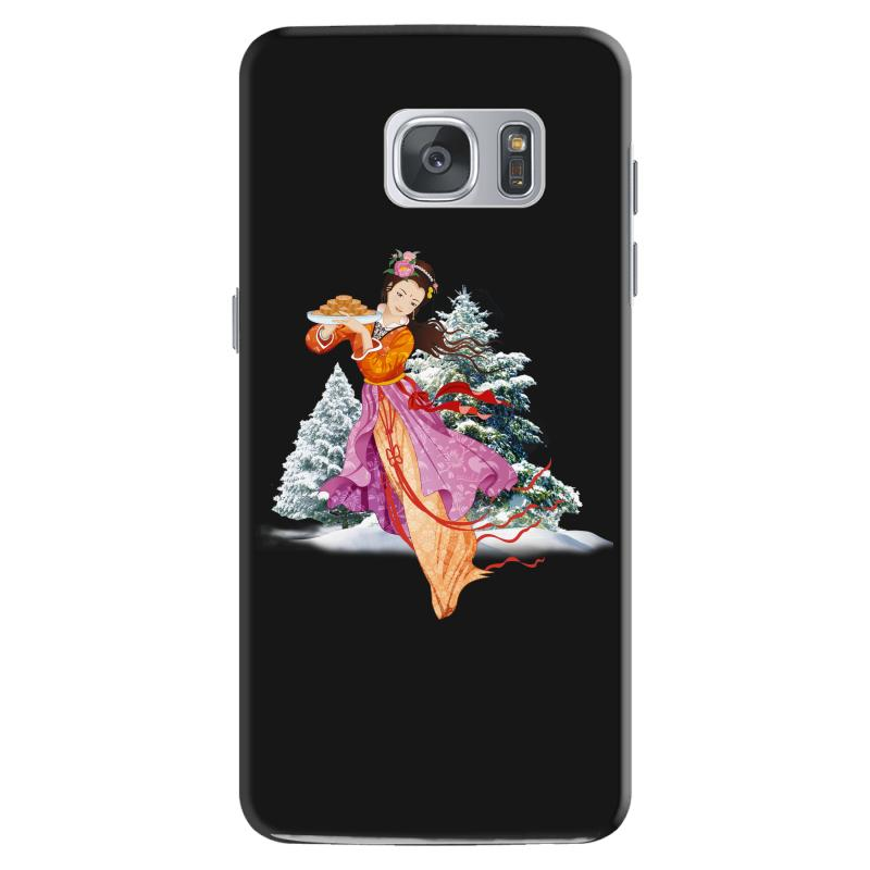 Snow Princess Samsung Galaxy S7 Case | Artistshot