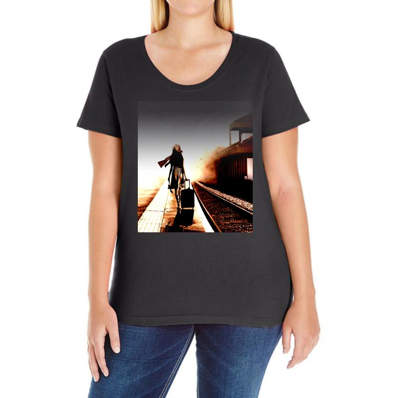 The Girl's Lonely Ladies Curvy T-shirt | Artistshot