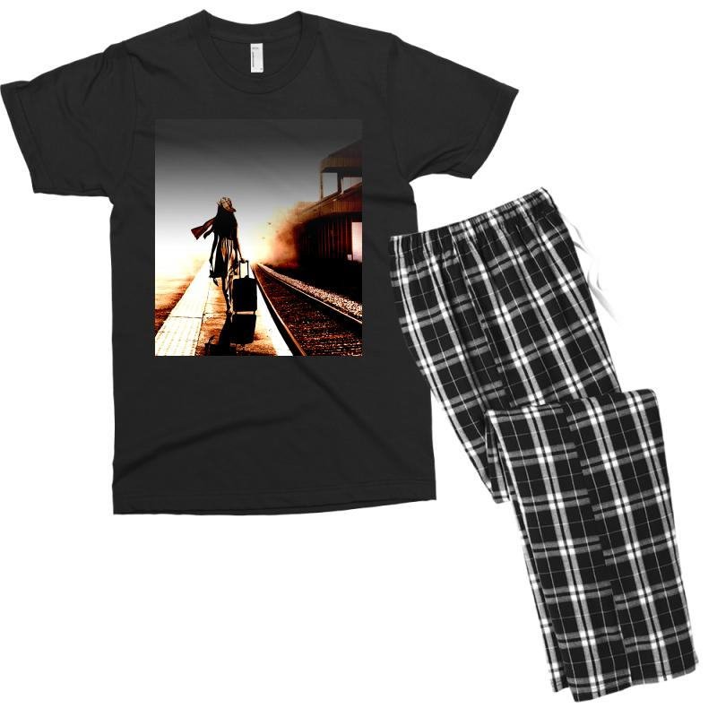 The Girl's Lonely Men's T-shirt Pajama Set | Artistshot