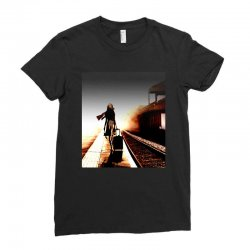 the girl's lonely Ladies Fitted T-Shirt | Artistshot