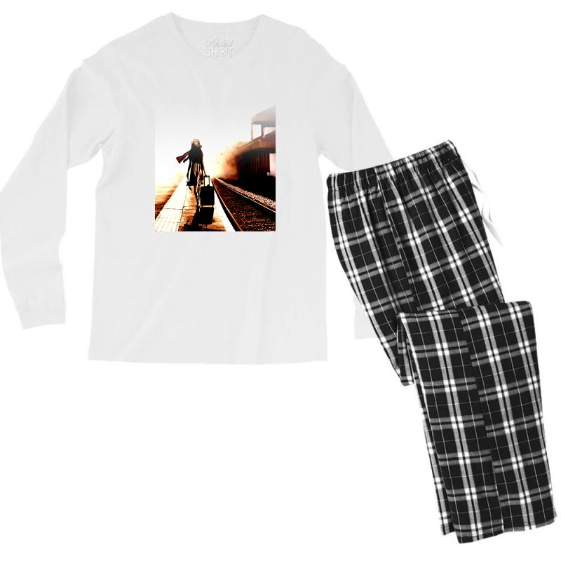 The Girl's Lonely Men's Long Sleeve Pajama Set | Artistshot