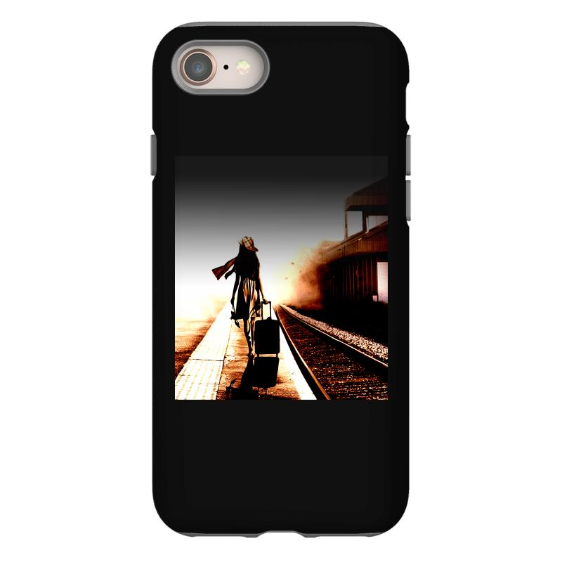 The Girl's Lonely Iphone 8 Case | Artistshot