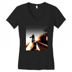 the girl's lonely Women's V-Neck T-Shirt | Artistshot