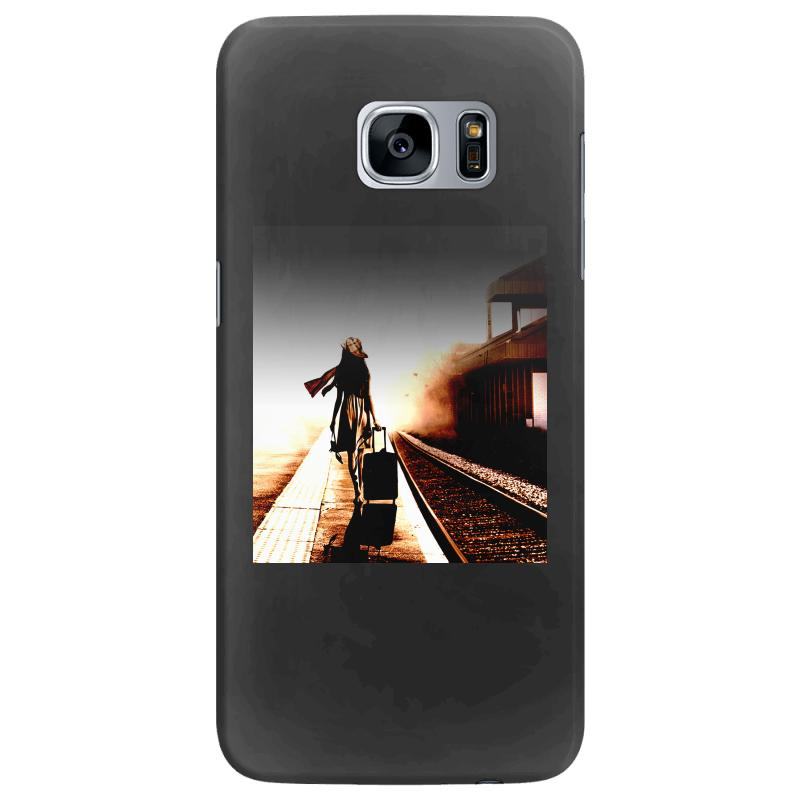 The Girl's Lonely Samsung Galaxy S7 Edge Case | Artistshot