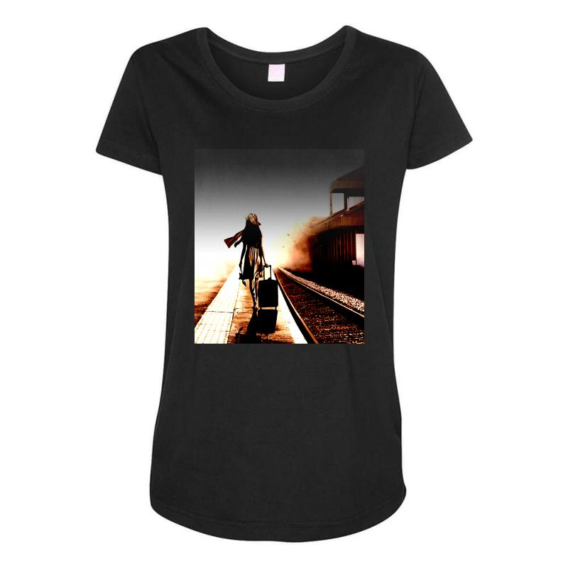 The Girl's Lonely Maternity Scoop Neck T-shirt | Artistshot
