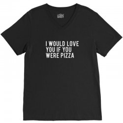 love or pizza V-Neck Tee | Artistshot
