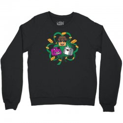 luck of the office Crewneck Sweatshirt | Artistshot