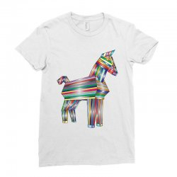 the legend of trojan horse Ladies Fitted T-Shirt | Artistshot