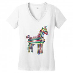 the legend of trojan horse Women's V-Neck T-Shirt | Artistshot