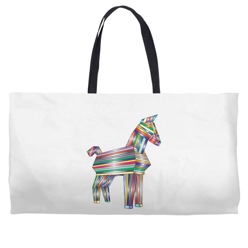 The Legend Of Trojan Horse Weekender Totes | Artistshot