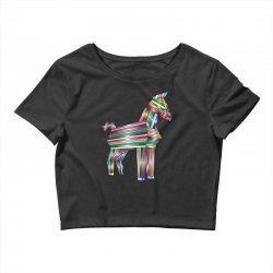 the legend of trojan horse Crop Top | Artistshot