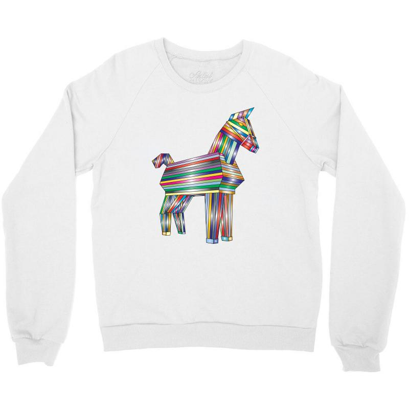 The Legend Of Trojan Horse Crewneck Sweatshirt | Artistshot