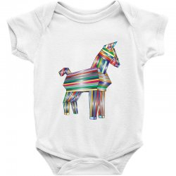 the legend of trojan horse Baby Bodysuit | Artistshot