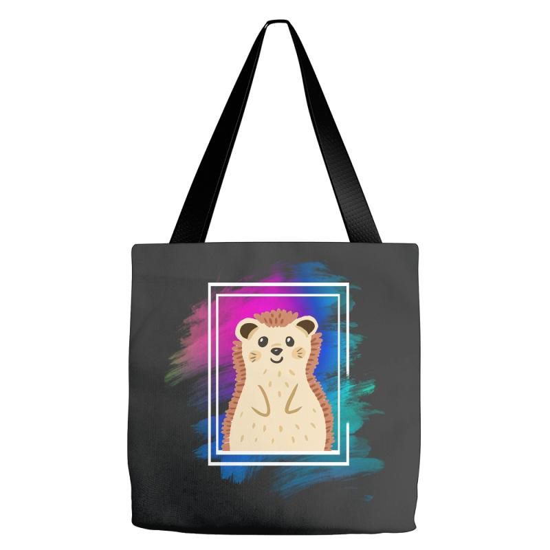 The Spring Hedgehog Tote Bags | Artistshot