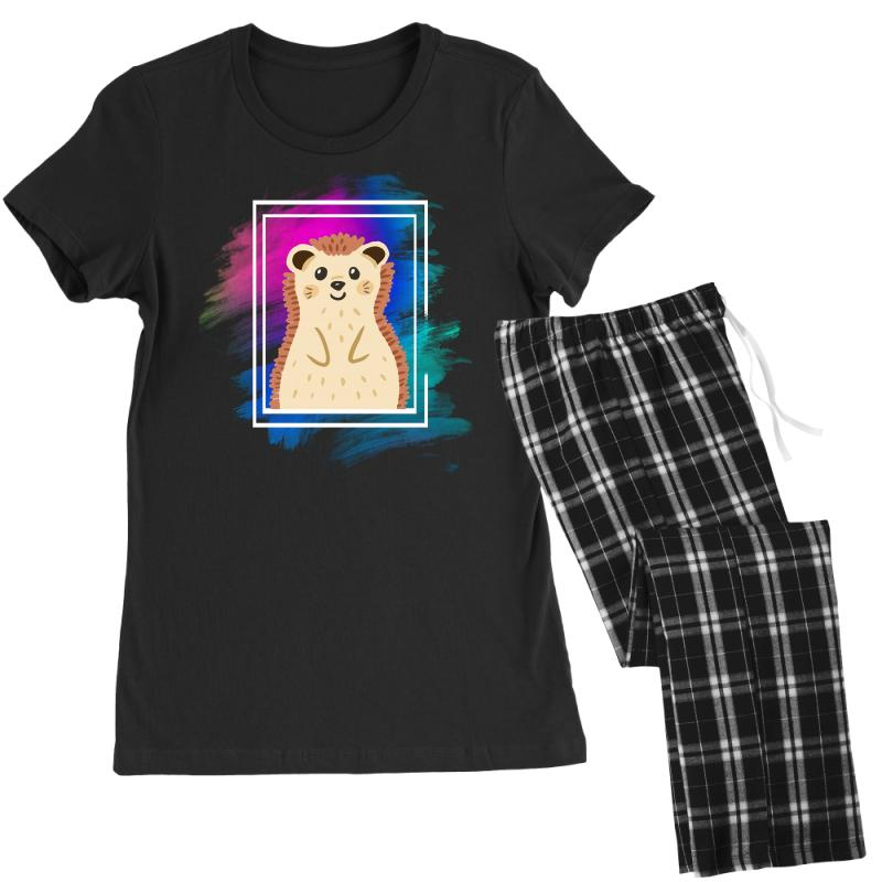 The Spring Hedgehog Women's Pajamas Set | Artistshot