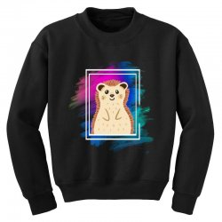 the spring hedgehog Youth Sweatshirt | Artistshot