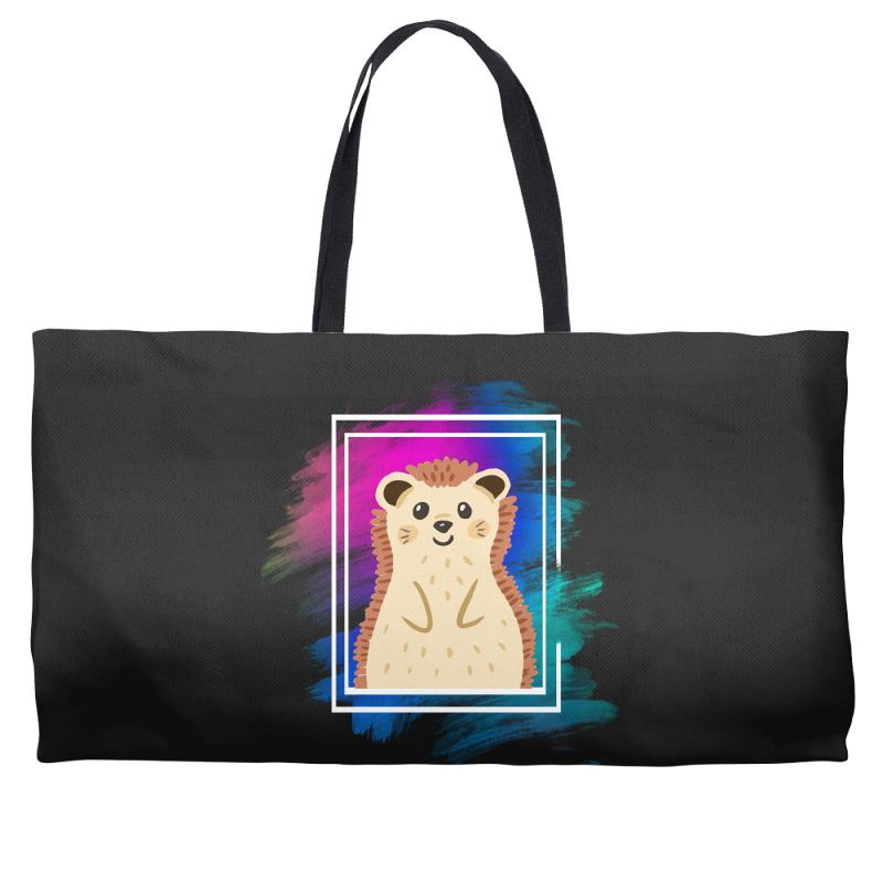 The Spring Hedgehog Weekender Totes | Artistshot