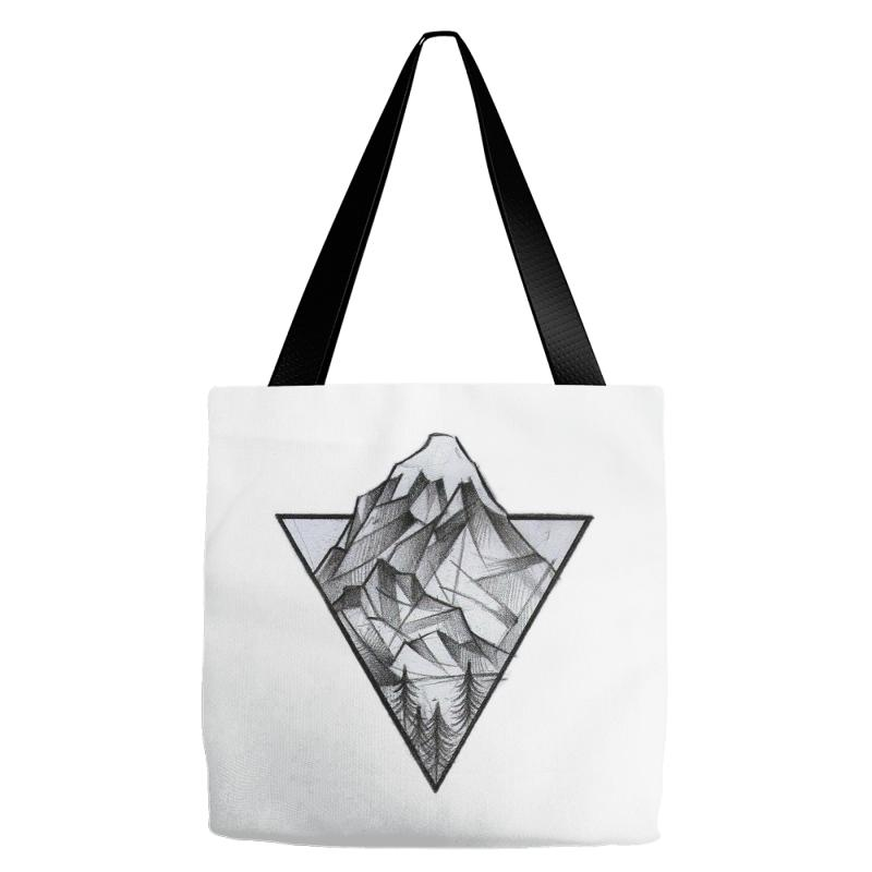 Triangle Mountain Tote Bags | Artistshot